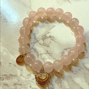 Pink Juicy couture beaded bracelet